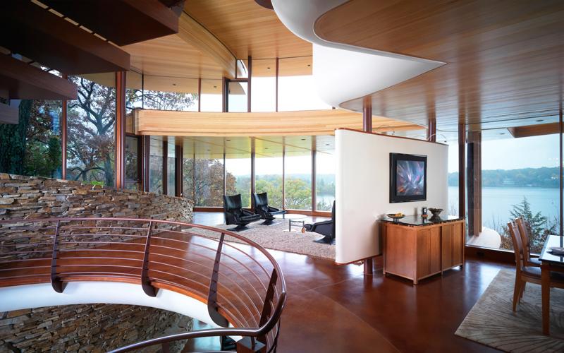 Chenequa residence interior