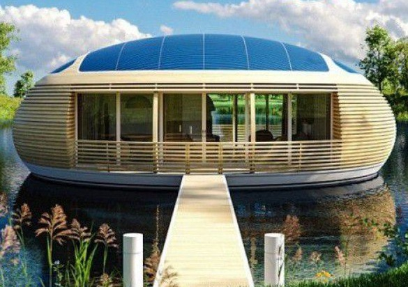Floating house WaterNest 100