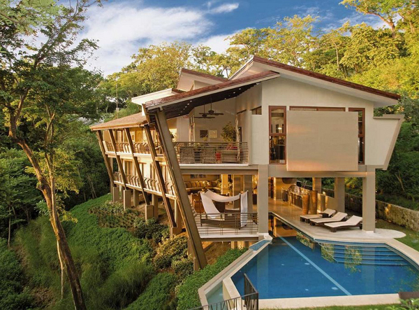 Luxury holiday villa in Costa Rica