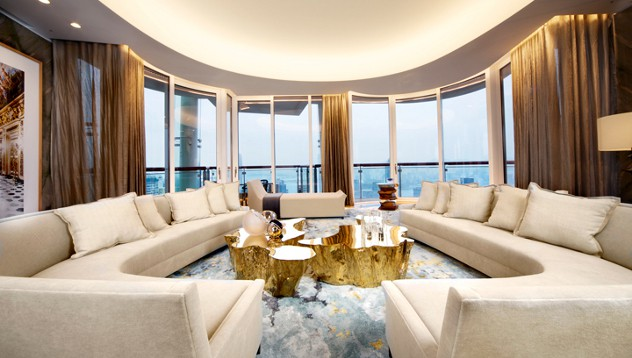 Luxury Hong Kong apartment