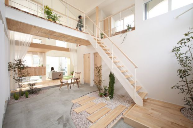 Kofunaki eco house in Shiga, Japan