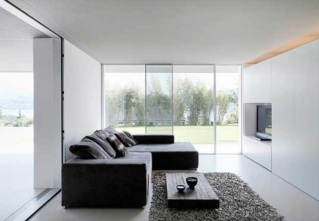 Lake Zurich house interior