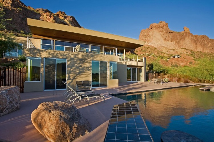 Monk's Shadow Residence house in Arizona