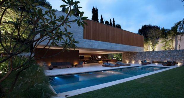 Designers house in Sao Paulo